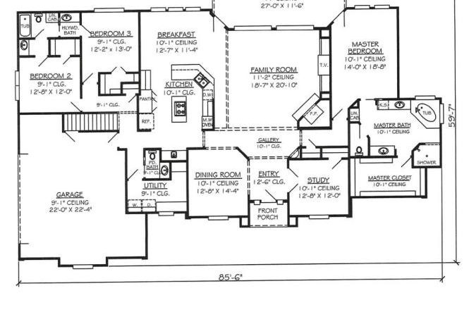Awesome House Drawings Bedroom Story Floor Plans