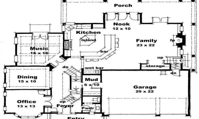Awesome Medieval House Plans