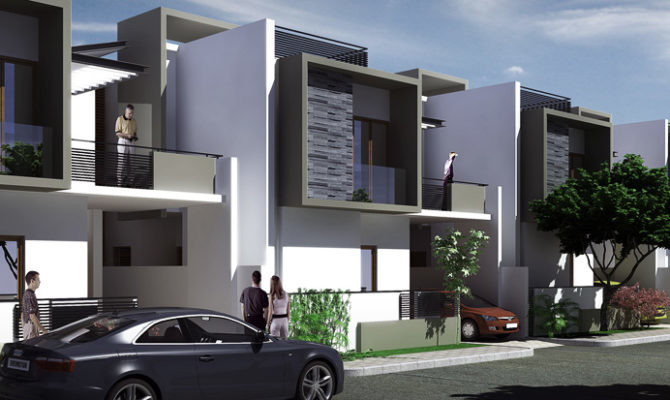 Awesome Modern Row House Design Architecture