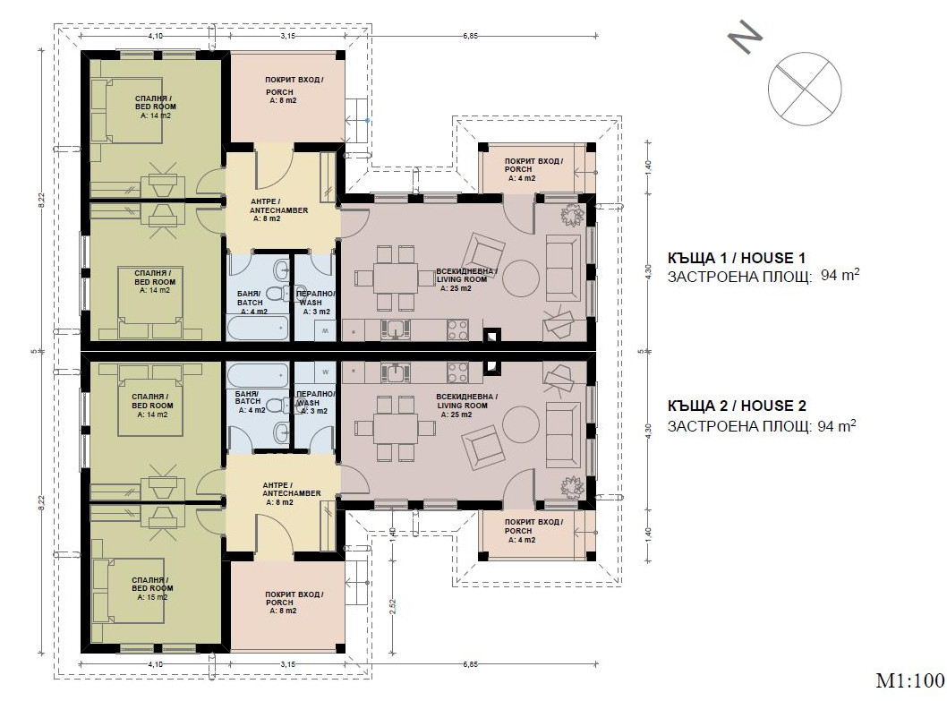 Awesome Semi Detached House Plans Home