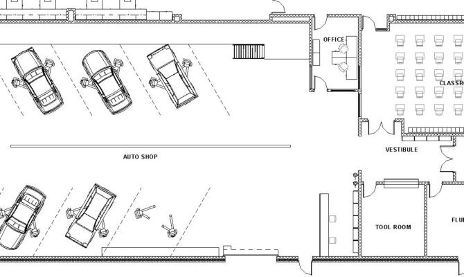 Awesome Shop Floor Plans House