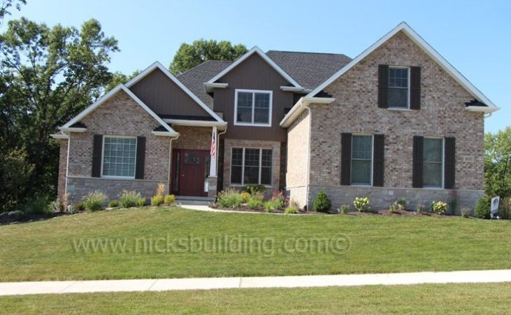 Back Brick Craftsman Style House Home Plans Blueprints