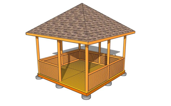 Backyard Gazebo Plans Large Beautiful Photos