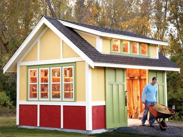 Backyard Shed Designs Can Build Compliment