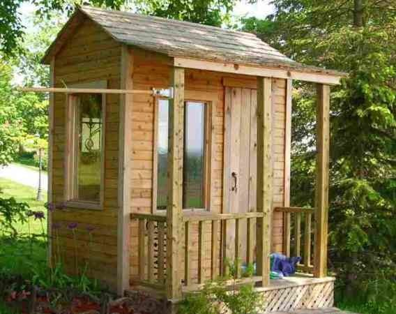 Backyard Shed Plans Blueprints