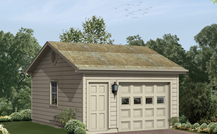 Bailey Hill One Car Garage Plan House Plans