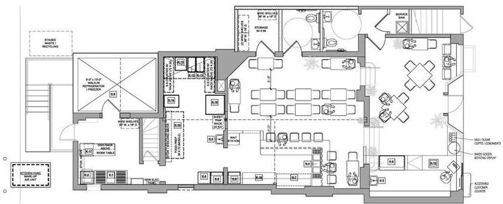 Bakery Layouts Designs Floor Plans Home