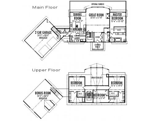 Balsam Custom Estate Homes Cedar Plans Post
