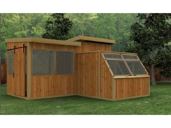 Baml Garden Shed Greenhouse Plans