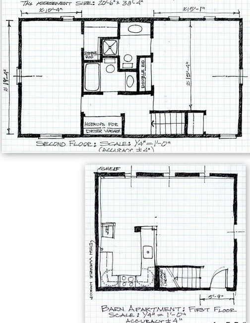 Barn Apartment Plans Vip