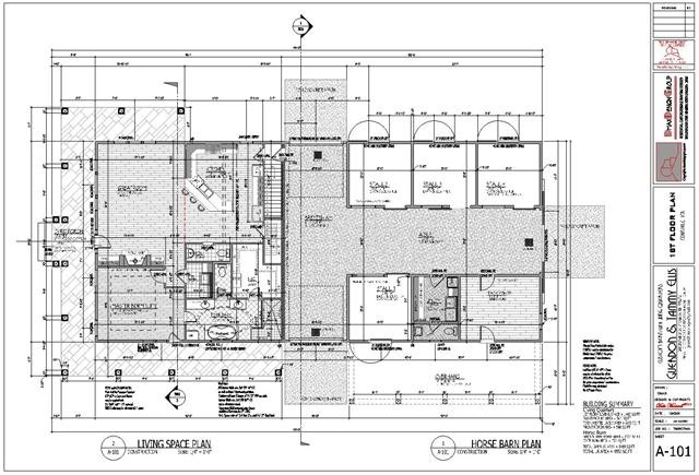Barn Floor Plans Living Quarters Vip