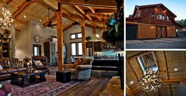 Barn Homes Rustic Beauty Practicle Even Affordable