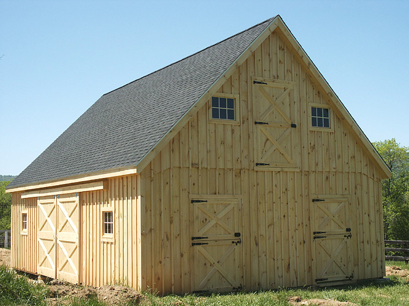 Barn Plans Professional Blueprints Horse Barns