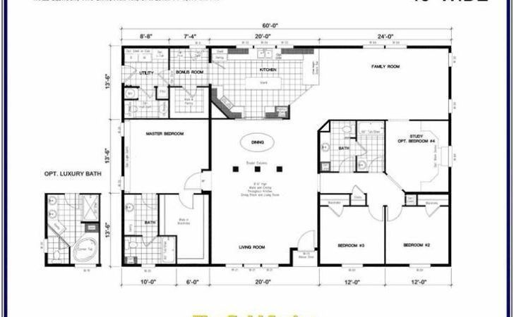 Barndominium Floor Plans Manufactured Modular Home
