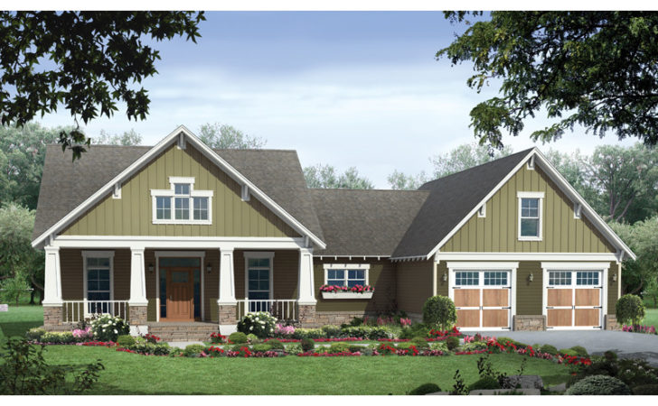 Barron Arts Crafts Home Plan House Plans