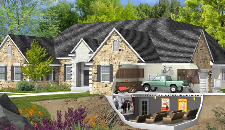 Basement Garage House Plans