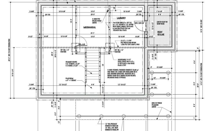 Basement House Plans Design