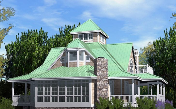 Beach Cottage Plans Southern House