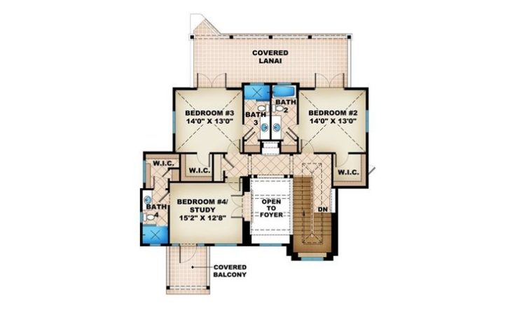 Beach House Plans Two Story Home Plan