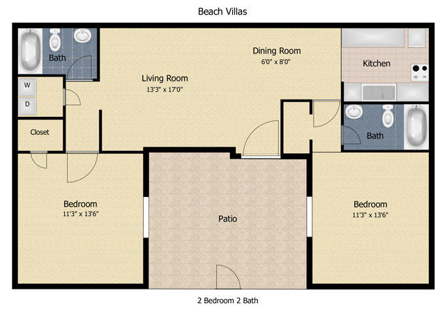 Beach Villas Jacksonville Florida Apartments