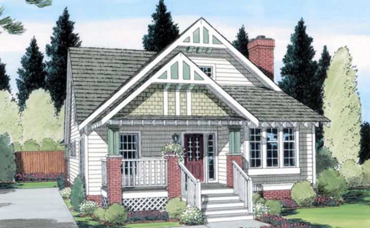 Beauford Arts Crafts Home Plan House Plans