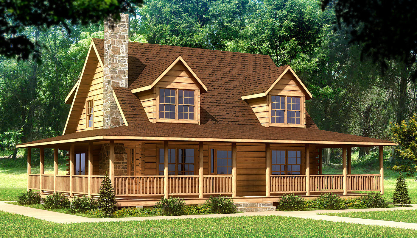 Beaufort Plans Information Southland Log Homes