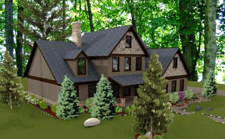 Beautiful Country Cottage House Plan Timber Frame Houses