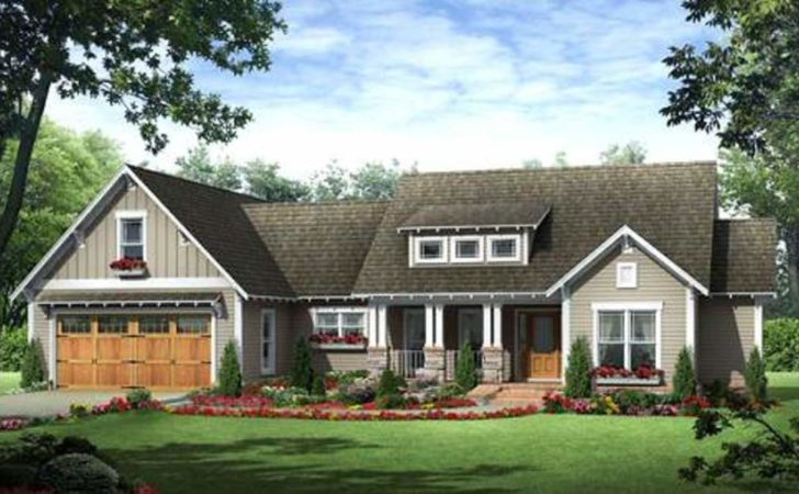 Beautiful Craftsman Style Homes Plans Ranch