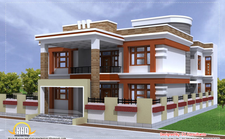 Beautiful Double Storied House Plan
