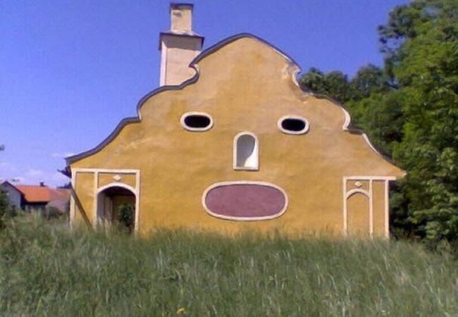 Beautiful Face Shaped Houses Around World Cool