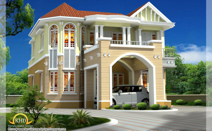 Beautiful House Elevation Indian Home Decor