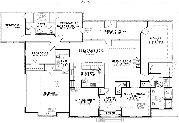 Beautiful House Plans Two Master Suites Thumb