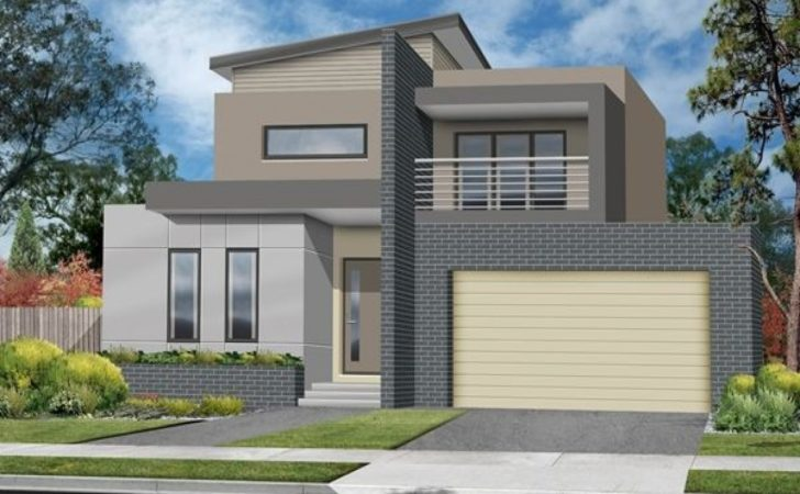 Beautiful Houses Designs Small Double Storey House Design