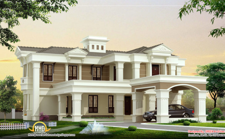 Beautiful Luxury Villa Design Kerala Home