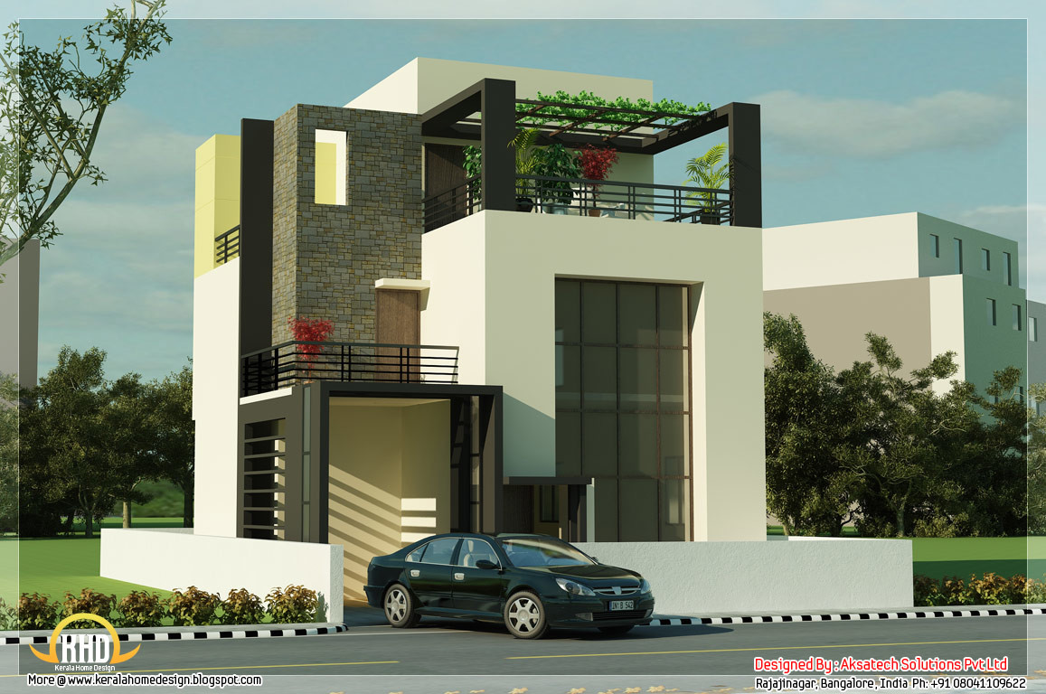 Beautiful Modern Contemporary House Renderings Home