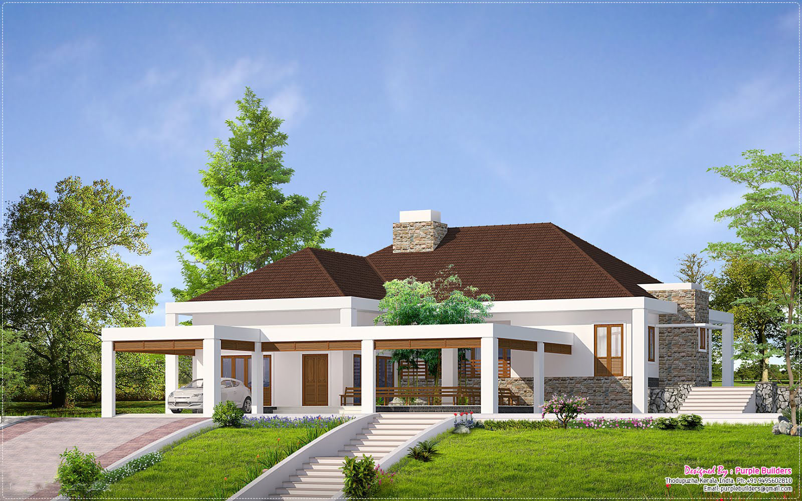 Beautiful Single Storey Home Designs House Design Ideas