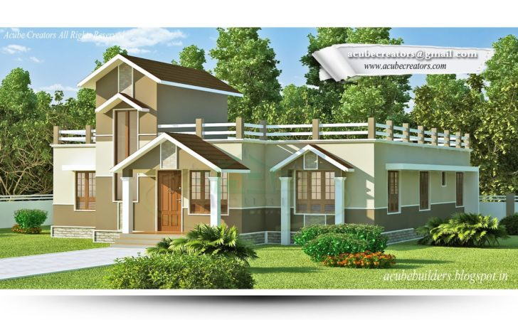 Beautiful Single Storey House Designs Homecrack