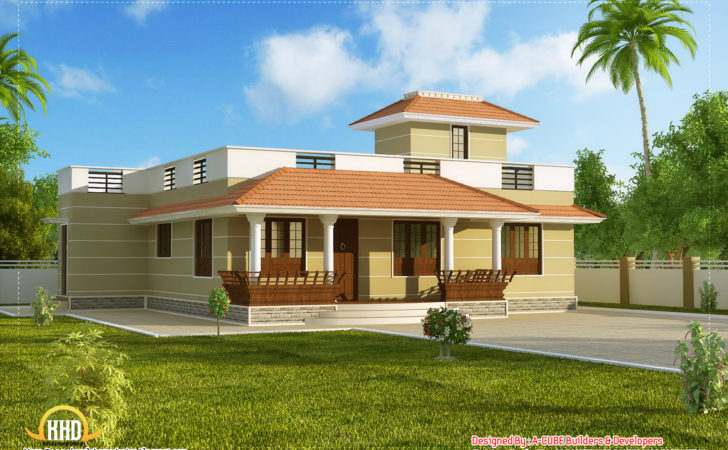 Beautiful Single Story Kerala Model House