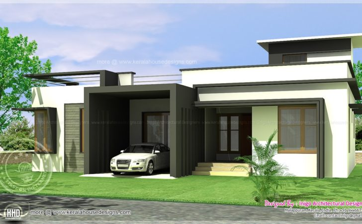 Bed Room Contemporary House Home Kerala Plans