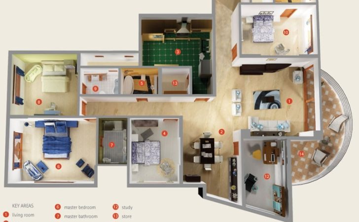 Bedroom Apartment House Plans Futura Home Decorating