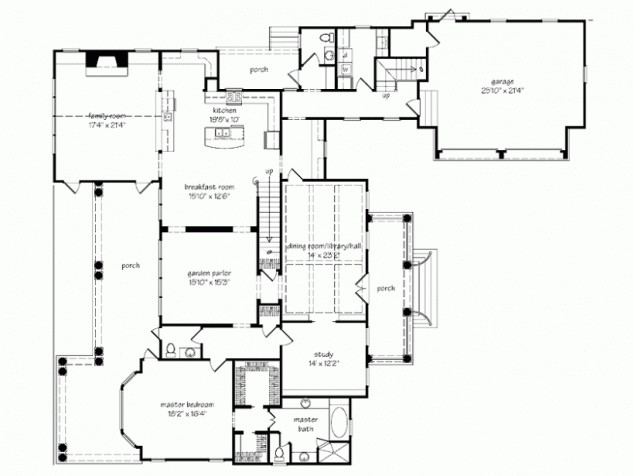 Bedroom Country House Plan Favething