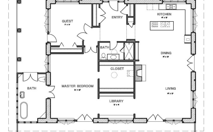 Bedroom Designs Two House Plans Spacious Porch