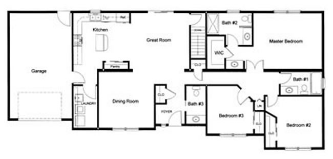 Bedroom Floor Plans Monmouth County Ocean New