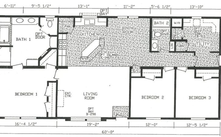 Bedroom Floor Plans Ranch Bath Modular Home Sun Ris