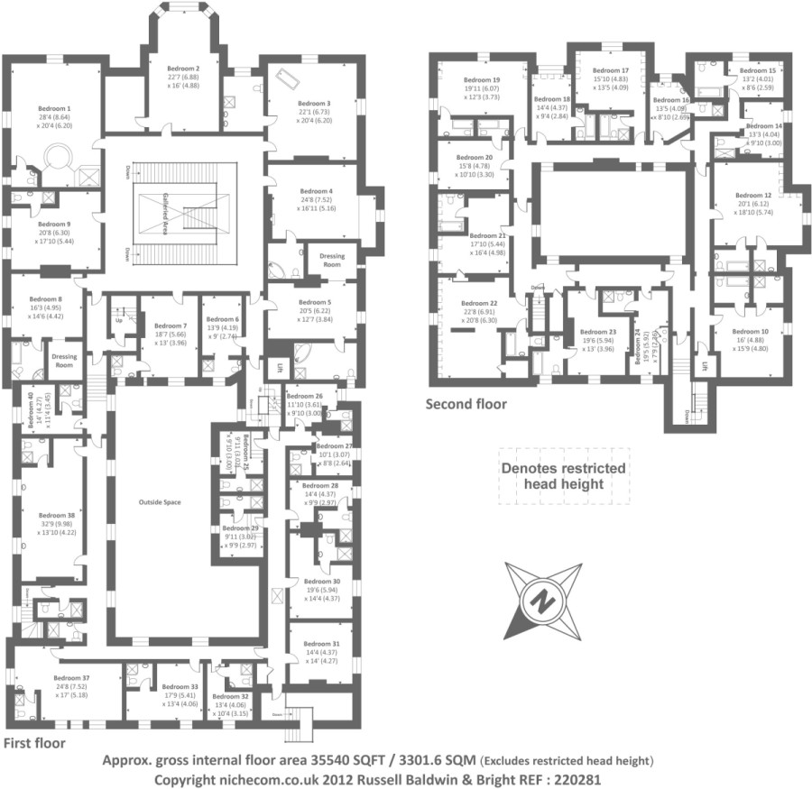 Bedroom House Floor Plans Homes