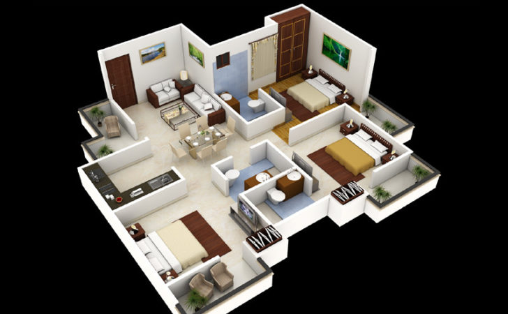 Bedroom House Plans Design Artdreamshome
