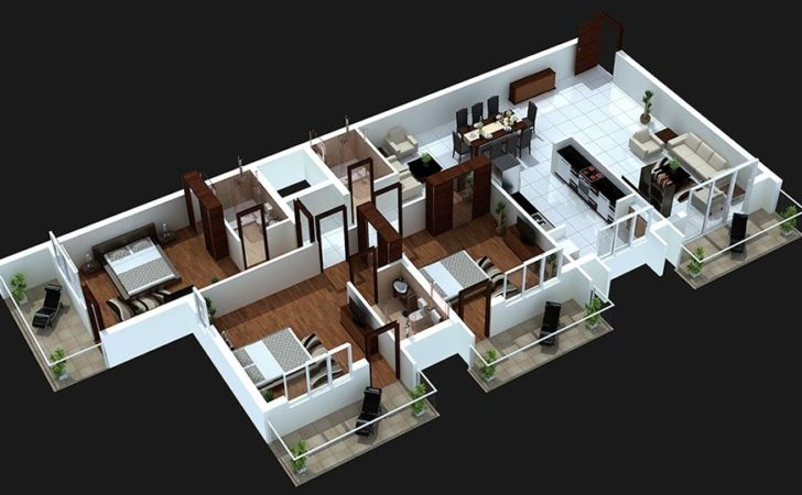 Bedroom House Plans Design Ideas