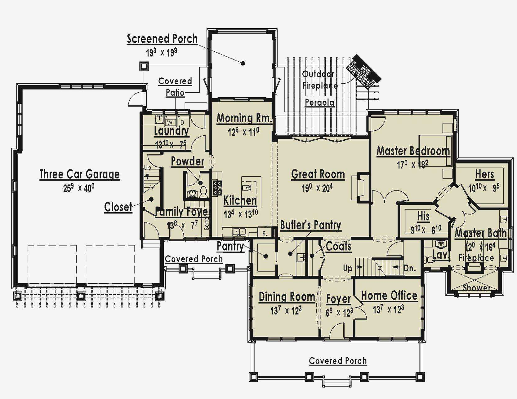 Bedroom House Plans Master Suites Inspirational