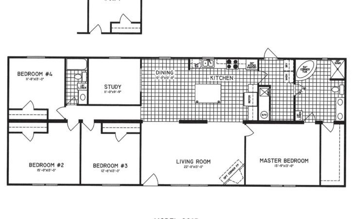 Bedroom House Plans One Story Designs Digihome