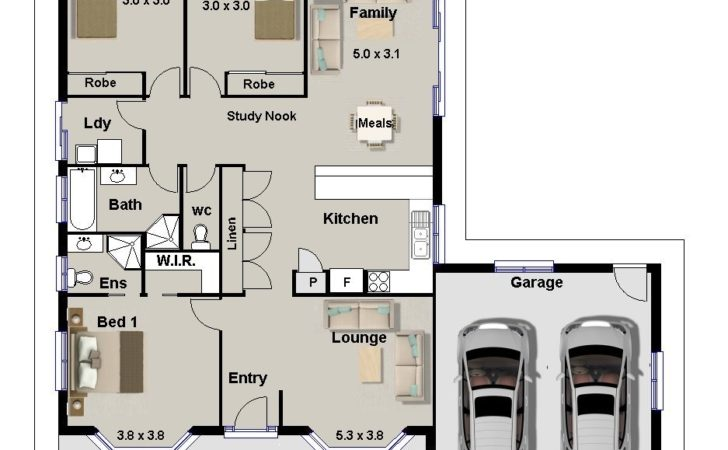 Bedroom House Plans Sale Homestead Double